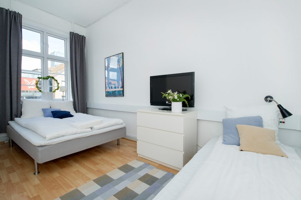 Zimmer in der Villa Gertrud in Kolding