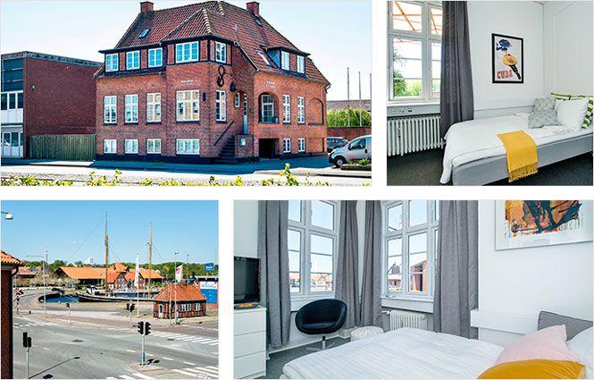 Bed and Breakfast Kolding - Villa Gertrud ligger i centrum